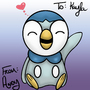 Piplup by GumDisease