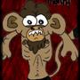 Skinny monki rapist by DisguisedAfro