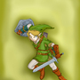 Link, The Hero Of Time by HAVT
