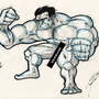 Hulk crappin' by davestudio