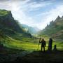 Fantasy Landscape by AtTheSpeedOf