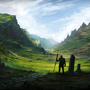 Fantasy Landscape by LlamaReaper