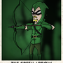 Green Arrow Illustration by Frosix