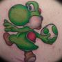Yoshi tattoo by greyswizzle