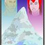 Mount Wundagore Travel Poster by DarkMatter