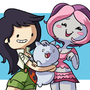 Beth Catbug and Plum by StevRayBro