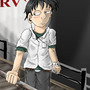 Shinji from Evangelion by Tahkyn