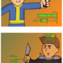 Fallout Parody: Bloody mess by Alouroua