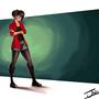 Jane Lane Fan art by andresdibuja92