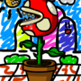 That Flower thing In Mario by RogueRobot