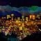 Phoenix, by night