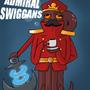 Admiral Swiggans by ArinsMind