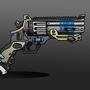 Futuristic Revolver by RistWorks