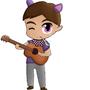 Chibi guitarist by SkovMH
