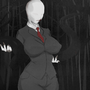 Slender woman clothed by Ein457