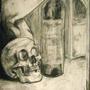 Skull Wine by Zombiepile