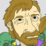 Zombie Chuck Norris by dragonofthewest