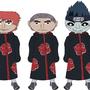 Naruto: Akatsuki Members by BrennonRamsey