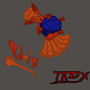 Vulpix and yarn by Taz-X