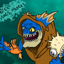 Dota 2: Slark by FlappyTheDugong