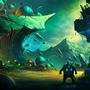 Alien Landscape by LlamaReaper