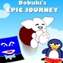 Dobuki's Epic Journey Poster by jacklehamster