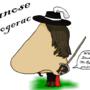 Cyranose de Boogerac by artistunknown