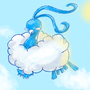 Pokeddex Day 3 - Altaria by Chocobogirl