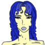 Another Blue Haired Lady by slaurak555
