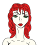 Red hair by slaurak555