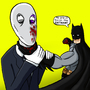 No One Is Scarier than BATMAN! by 7darkriders