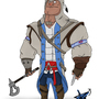 Connor Kenway by dYb