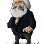 Karl Marx by dYb