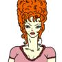 Tall Orange Hair by slaurak555