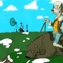 bobo the bear rider by df36367