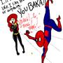 SpiderBaka by destructin