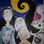 Tim Burton Fanart by Inumisha