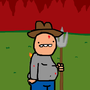 farmer orange goes to hell by Zspace10098