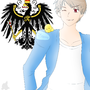 Prussia and GIlbird by HerrCookieFox