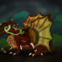 The Brown Dragon. by xDarkSpace