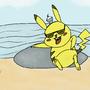 Pikachu Thug Life by duncezero