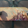 Old Skateboard, new paint. by DonStracci