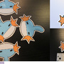 Mudkip stickers by Miya-Kome