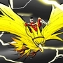 Zapdos & Flash by SteveFeane