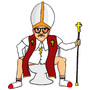 Pope Poopin... by DarkAssortments