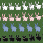Bunny Sprites Alpha Stage by CrookedCartridge