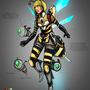 Queen Bee by t0nkatsu