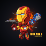 Iron Man Cartoon by iMattyJay