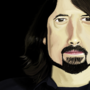 Ms Paint: Dave Grohl by Shleeen