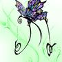 Purdy Butterfly by gravityglitch